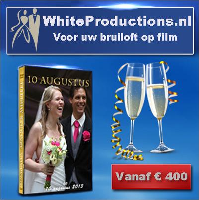 white productions voor uw bruiloft op film trouwerij